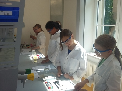 Chemie in der Federtasche